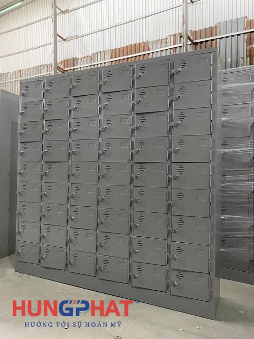 Phân phối tủ locker sắt 54 ngăn tại KCN dệt may tỉnh Nam Định3