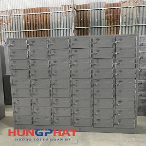 Tủ locker 54 ngăn theo yêu cầu tại KCN dệt may tỉnh Nam Định