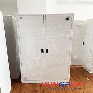 Cung cấp 12 bộ tủ sắt quần áo cho khách hàng tại Nam Định