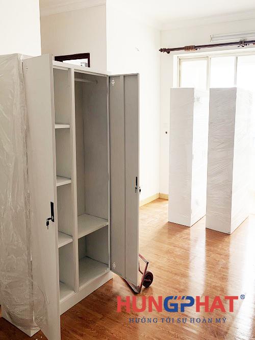 Cung cấp 12 bộ tủ sắt quần áo cho khách hàng tại Nam Định3