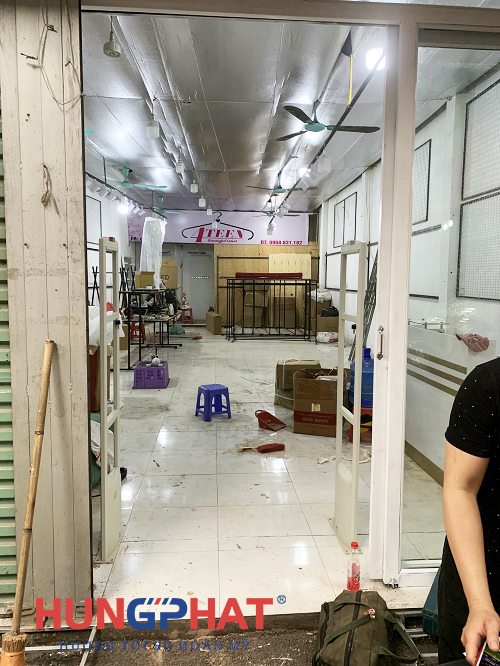 Cổng từ EAS2028 lắp đặt cho khách hàng tại Tiên Du, Bắc Ninh3