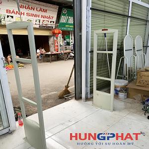 Cổng từ EAS2028 lắp đặt cho khách hàng tại Tiên Du, Bắc Ninh