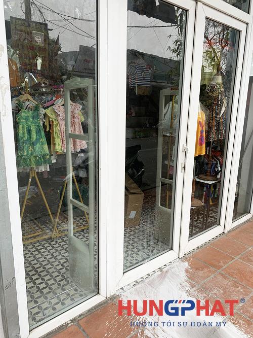 Lắp đặt cổng từ an ninh EG1122 tại Bạch Đằng, Hà Nội3