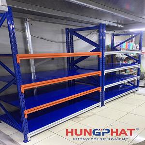 Lắp đặt kệ trung tải 4 tầng cho khách hàng tại Vạn Phúc, Hà Đông