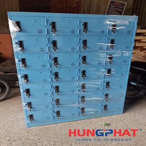Tủ locker 28 ngăn theo yêu cầu phân phối tại Nam Định