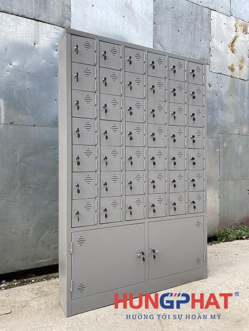 Hoàn thành tủ locker 44 ngăn theo yêu cầu tại Nam Định3