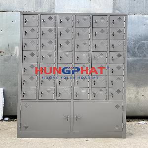 Tủ locker 44 ngăn đặt phân phối cho khách hàng tại Nam Định