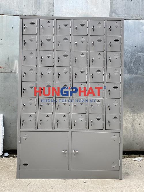 Hoàn thành tủ locker 44 ngăn theo yêu cầu tại Nam Định1