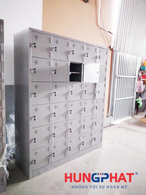 Phân phối tủ locker 30 ngăn cho công ty tại Ninh Giang, Hải Dương1