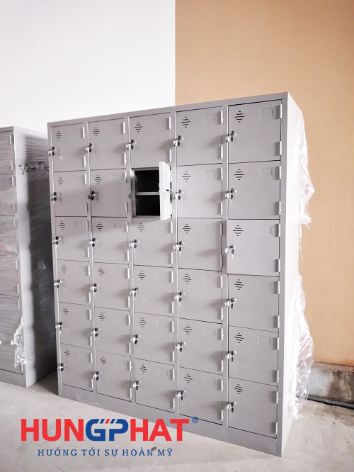 Phân phối tủ locker 30 ngăn cho công ty tại Ninh Giang, Hải Dương3