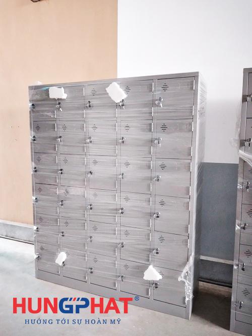 Phân phối tủ locker 30 ngăn cho công ty tại Ninh Giang, Hải Dương2