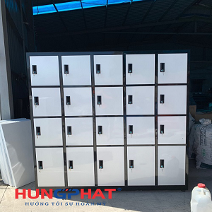 Cung ứng tủ locker 20 ngăn cho khách hàng tại Thái Bình
