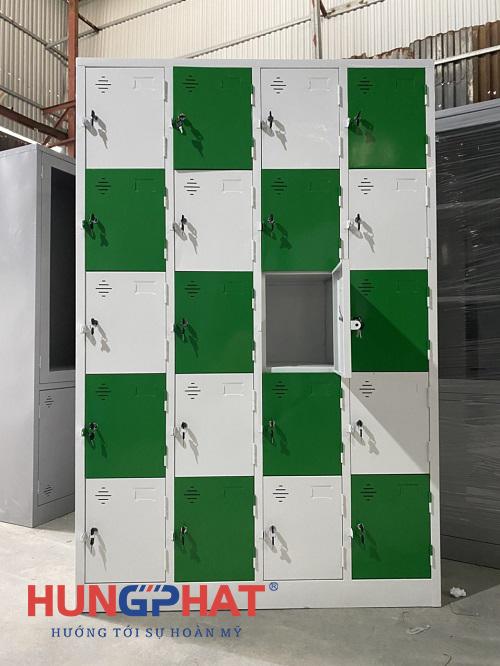 Cung cấp tủ locker sắt 20 ngăn theo yêu cầu tại Hải Phòng1