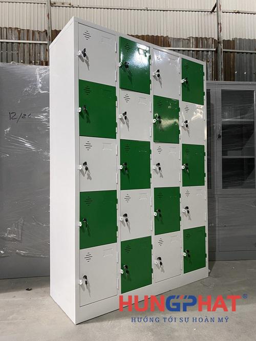 Cung cấp tủ locker sắt 20 ngăn theo yêu cầu tại Hải Phòng3