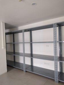 Lắp đặt kệ kho 4 tầng cho khách hàng tại Thụy Khuê, Hà Nội
