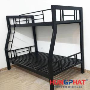 Giường sắt lệch tầng 1m2 hộp to
