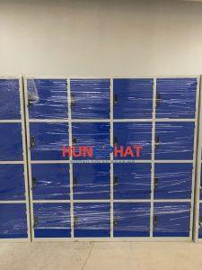 Hoàn thiện đơn hàng tủ sắt 16 ngăn và 12 ngăn tại  KĐT Ecopark