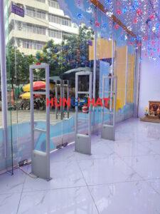 Lắp đặt cổng từ an ninh S2080 nhà sách tiến thọ ở TP Thái Nguyên