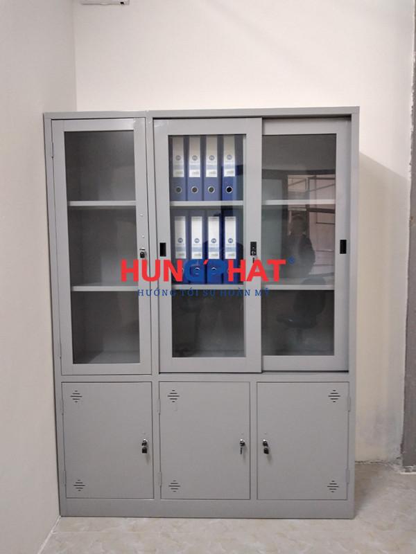 Phân phối tủ hồ sơ 3 buồng cánh kính tại Vĩnh Phúc