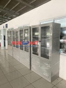 Nội thất Hưng Phát gửi xe đơn hàng tủ sắt văn phòng K3 đi tỉnh Hà Nam