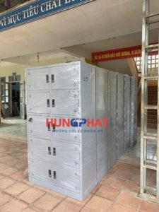 Sản xuất 10 chiếc tủ sắt K10 cho khách hàng tại Lạng Sơn