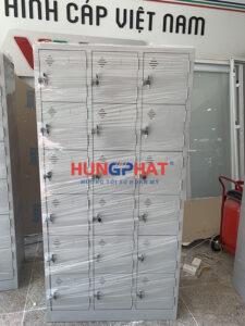 Tủ locker 18 ngăn phân phối tại VTV CAP