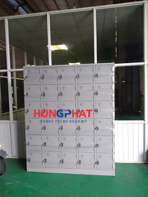 Phân phối tủ sắt 30 ngăn cho khách hàng tại Sóc Sơn