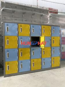 Tủ mầm non 20 ngăn theo yêu cầu phân phối tại Đống Đa