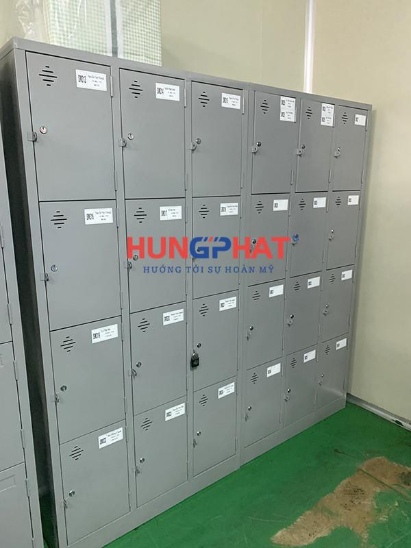 Xuất xưởng thành công lô 30 tủ locker 12 ngăn cho KCN Quang Minh